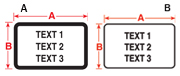 Rating Plate Labels - Diagram