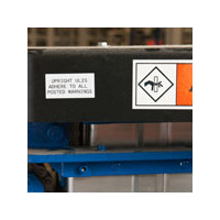 Low Surface Energy / Powder Coated Surface Labels