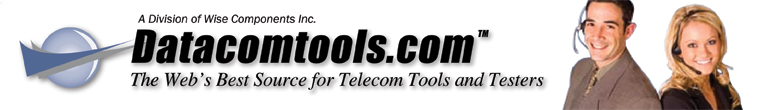 Datacomtools: The webs best source for telecom tools and testers