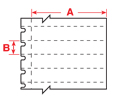 Brady BMP71 Workstation Labels - Diagram Red