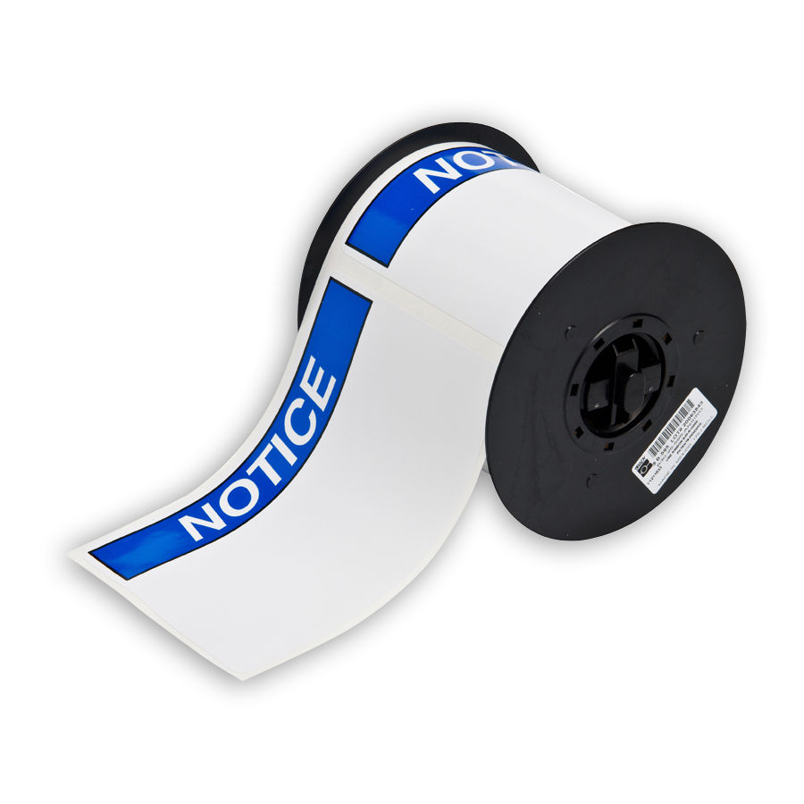 """Brady B30-25-595-ANSINO Pre-Printed Pre-Cut Blank Sign Headers, 4.000, 6.000, 1, 175 Labels"""