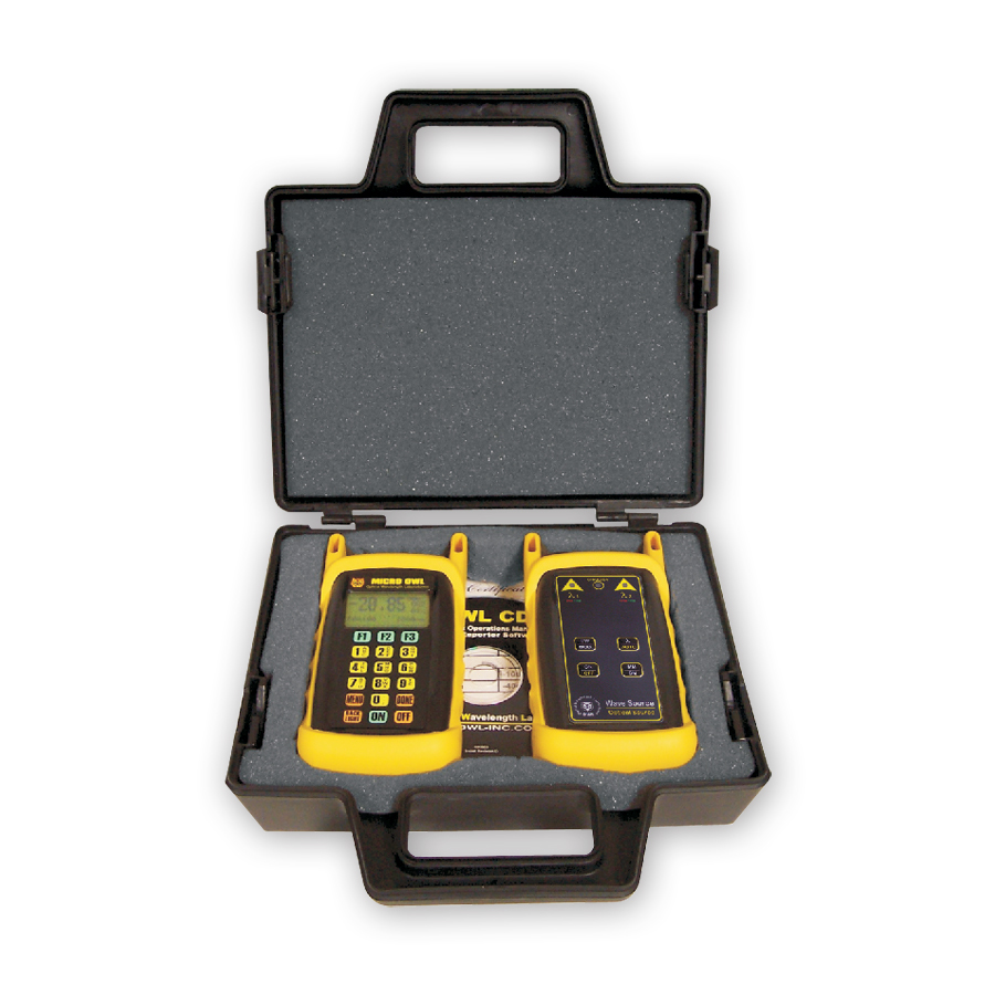 Optical Wavelength Laboratories KIT-M2-WSMDsc Micro OWL 2/WaveSource MM Test Kit. SC connector